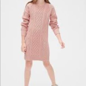 Gap Kids Cable-Knit Sweater Dress